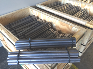 Extruded burner bars