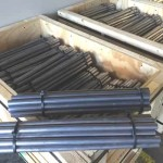 Custom extruded lead burning bars