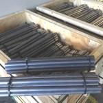 Custom extruded lead burning bars
