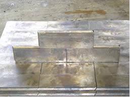 Interlocking Lead Brick
