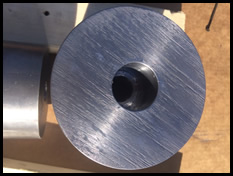 machined & drilled lead part