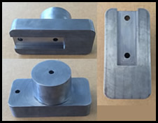 multi view of machined part