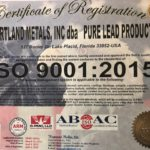 Our ISO:2015 Certification