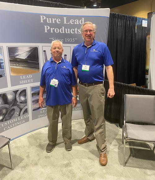 Ed & Troy in Pure Lead Products booth at FRSA